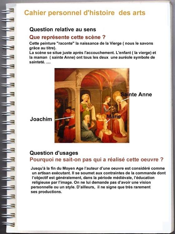 Question sur l'histoire des arts. 3ème Autre